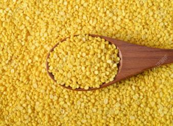 yellow split mung dal, moong dal